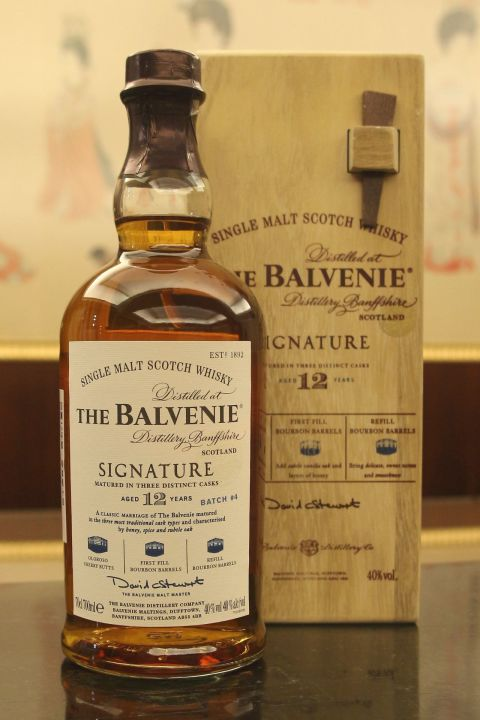 Balvenie Signature 12 Yeas Batch No. 4 百富 12年 大師簽名版 第四批次 (700ml 40%)
