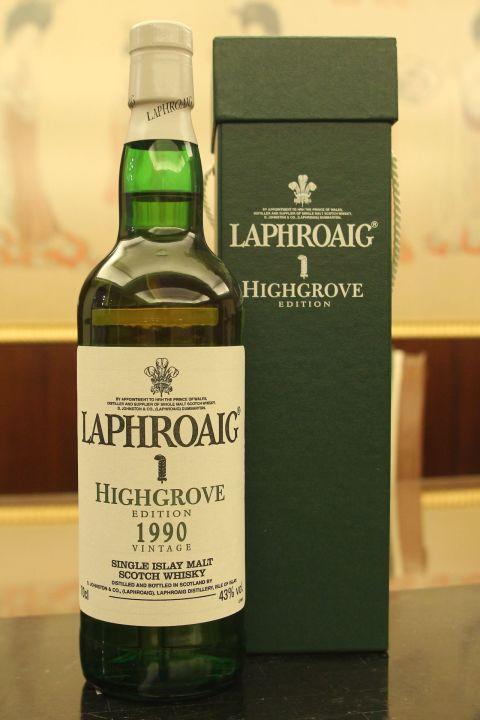 (現貨) LAPHROAIG 1990 Vintage Highgrove Edition 拉佛格 1990 皇室精選年份系列 (700ml 43%)