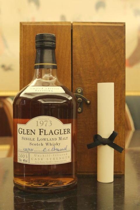 (現貨) Glen Flagler 1973 30 years 格蘭弗拉格勒 1973 30年 原酒 消失的酒廠 (700ml 46%)
