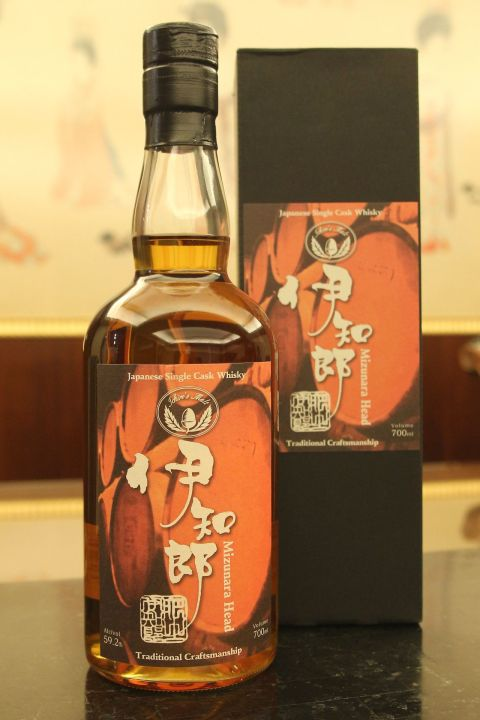 Ichiro's Malt 2000 Mizunara Head for Isetan 伊知郎 水楢風味桶 伊勢丹限定 (700ml 59.2%)
