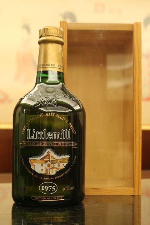 (現貨) Littlemill 1975 24 years old 小磨坊 1975 24年 單一純麥威士忌 (700ml 40%)