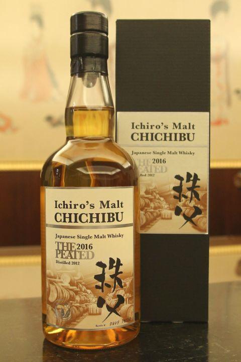 (現貨) CHICHIBU Ichiro's Malt The Peated 2016 秩父 泥煤 2016版 (700ml 54.5%)