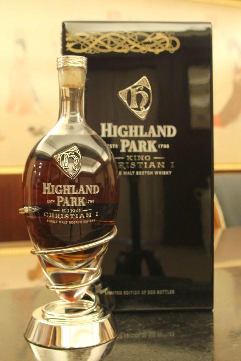 (現貨) Highland Park King Christian 1 高原騎士 維京戰士系列 限量珍藏 (700ml 46.8%)