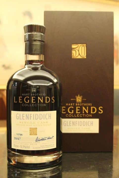 (現貨) Hart Brothers – Glenfiddich 1964 50 years Single Cask 威伯特 格蘭菲迪 50年 單桶原酒 (700ml 51.1%)