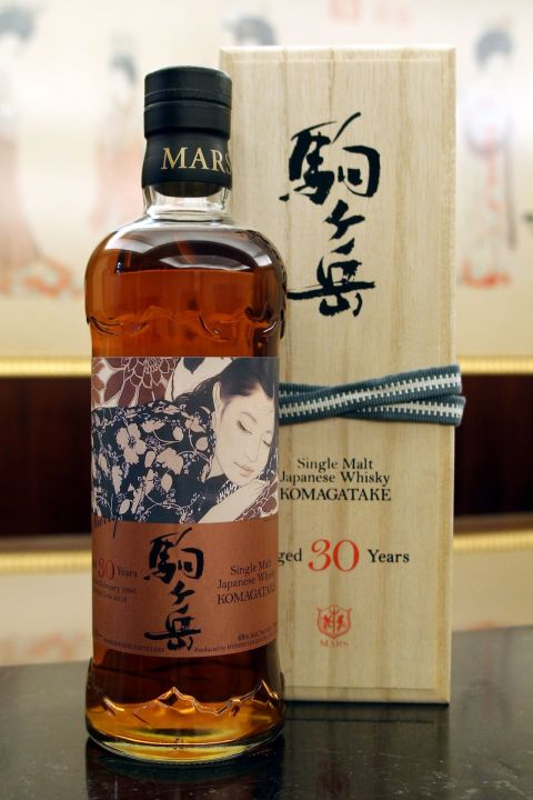 (現貨) Mars Whisky KOMAGATAKE 1986 30 Years Sherry Cask 駒之岳 1986 30年 雪莉桶  (700ml 48%)