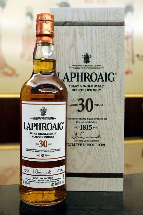 (現貨) LAPHROAIG 1985 30 years 2016 Release 拉佛格 1985 30年 原酒 2016版 (700ml 53.5%)