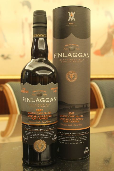 (現貨) Finlaggan 2007 Single Cask Taiwan Limited Edition 艾雷瘋 2007 單桶 台灣限定版 (700ml 53.8%)