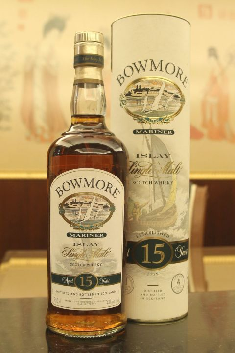 (現貨) Bowmore Mariner 15 Years Bottled 2000s 波摩 水手 15年 絕版瓶 (750ml 43%)