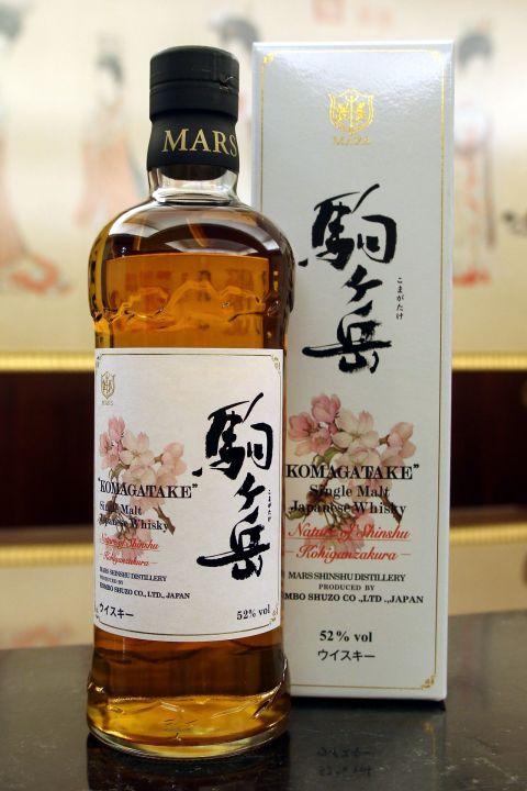(現貨) Mars Whisky KOMAGATAKE Kohiganzakura 駒之岳 花卉系列 小彼岸櫻 (700ml 52%)