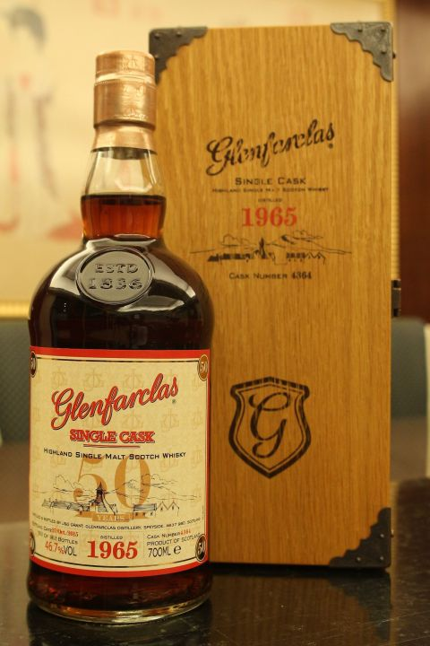 (現貨) Glenfarclas 1965 50 years Single Cask 格蘭花格 1965 50年 單桶 (700ml 46.7%)