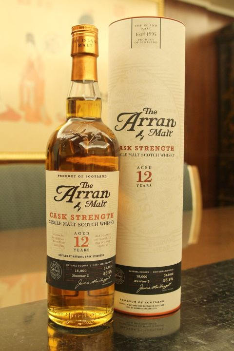 (現貨) ARRAN 12 years Cask Strength Batch No.3 愛倫 12年 原酒 三版 (700ml 53.9%)