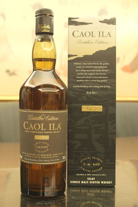 (現貨) Caol Ila 2001~2013 Distillers Edition 卡爾里拉 酒廠限定版 (700ml 43%)