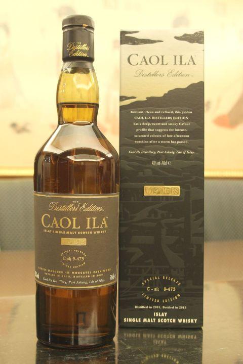 (現貨) Caol Ila 2001~2013 Distillers Edition 卡爾里拉 酒廠限定版 (700ml 43%)