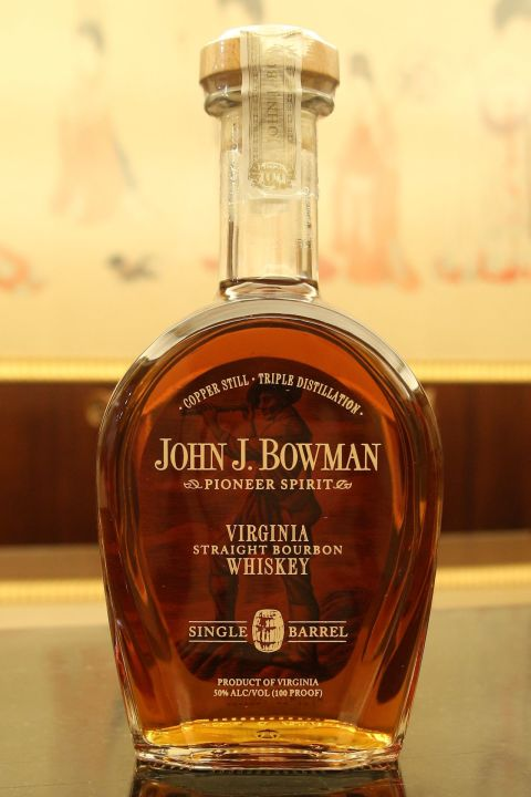 John J. Bowman Single Barrel Bourbon 維吉尼亞單桶波本 WWA世界最佳波本 (750ml 50%)