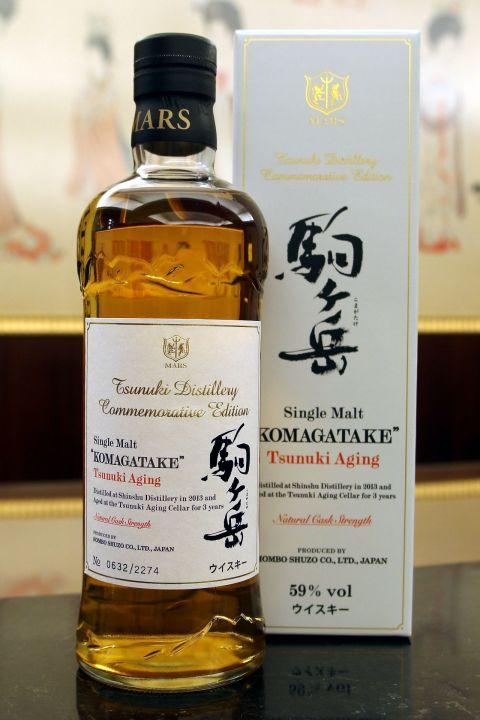(現貨) Mars Whisky KOMAGATAKE 2013 Tsunuki Aging 駒之岳 2013 原酒 - 津貫熟成 (700ml 59%)