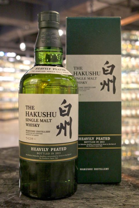 (現貨) Hakushu Heavily Peated 2013 白州 重泥煤 2013版 (700ml 48%)