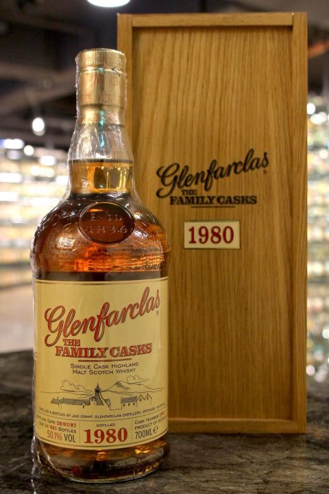 (現貨) Glenfarclas 1980 The Family Casks 格蘭花格 1980 家族桶 (700ml 50.1%)