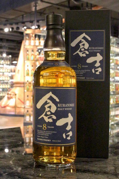 Kurayoshi 8 Years Pure Malt Whisky 倉吉 8年 純麥威士忌 (700ml 43%)