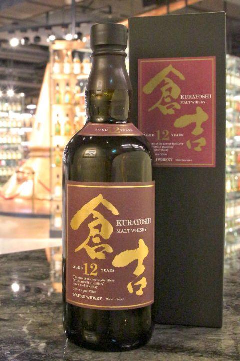 (現貨) Kurayoshi 12 Years Pure Malt Whisky 倉吉 12年 純麥威士忌 (700ml 43%)