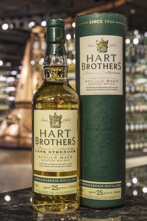 (現貨) Hart Brothers – Bunnahabhain 1989 25 years 威伯特 布納哈本 1989 25年 單桶原酒 (700ml 51.4%)