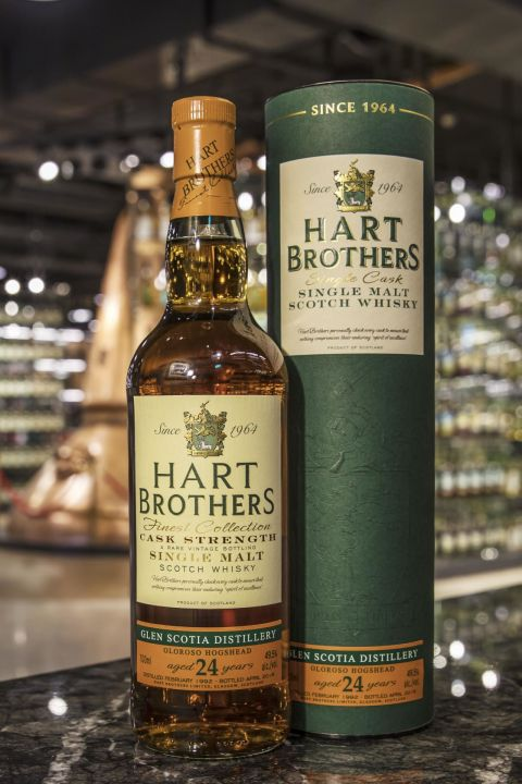 (現貨) Hart Brothers – Glen Scotia 1992 24 years 威伯特 斯高夏 1992 24年 單桶原酒 (700ml 49.5%)