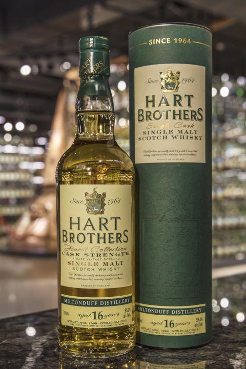 (現貨) Hart Brothers – Miltonduff 1999 16 years 威伯特 米爾頓道夫 1999 16年 單桶原酒 (700ml 55.2%)