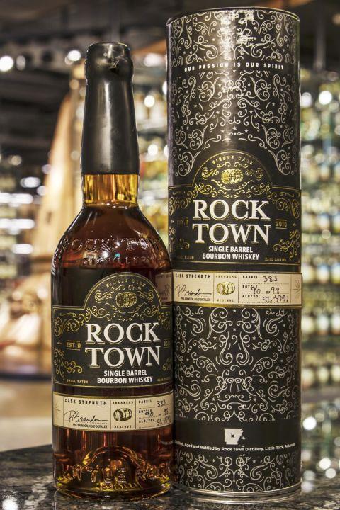(現貨) Rock Town Single Barrel Bourbon #383 羅克鎮 美國波本威士忌 單桶原酒 (750ml 56.47%)