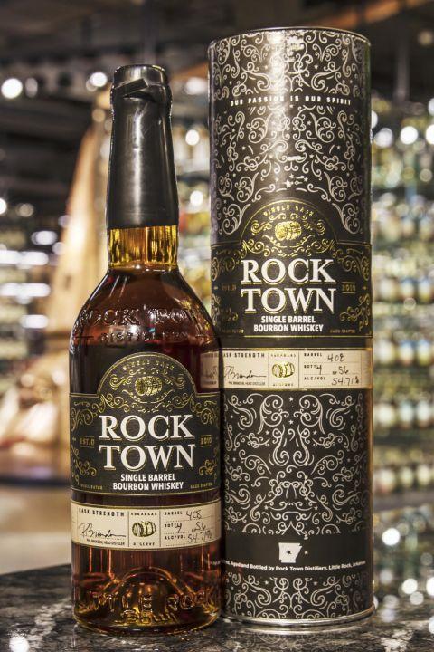 (現貨) Rock Town Single Barrel Bourbon #408 羅克鎮 美國波本威士忌 單桶原酒 (750ml 54.71%)