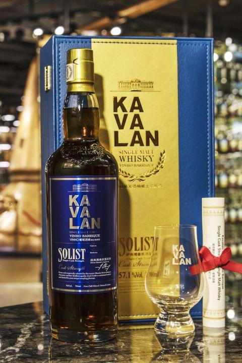 (現貨) Kavalan Vinho Barrique 2012 Glass Set 噶瑪蘭 經典獨奏 葡萄酒桶原酒 單杯禮盒 (700ml 57.1%)
