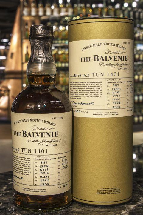 The BALVENIE Tun 1401 Batch No.3 百富 1401 第三批次 (750ml 50.3%)