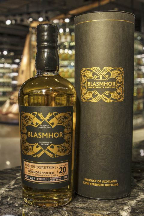 (現貨) Blasmhor – Bowmore 1996 20 Years Cask Strength 威仕摩 – 波摩 1996 20年 單桶原酒 (700ml 53.5%)
