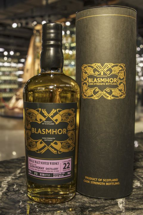 (現貨) Blasmhor – Glen Moray 1995 22 Years Cask Strength 威仕摩 – 格蘭莫雷 1995 22年 單桶原酒 (700ml 57.8%)