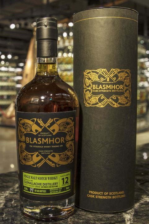 (現貨) Blasmhor – Glenallachie 2004 12 Years Cask Strength 威仕摩 – 格蘭阿拉契 2004 12年 單桶原酒 (700ml 61.8%)