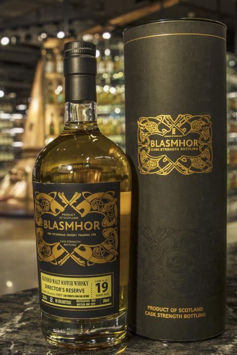 (現貨) Blasmhor –Burnside 1997 19 Years Cask Strength 威仕摩 – 伯恩賽 1997 19年 調和單桶原酒 (700ml 53.5%)