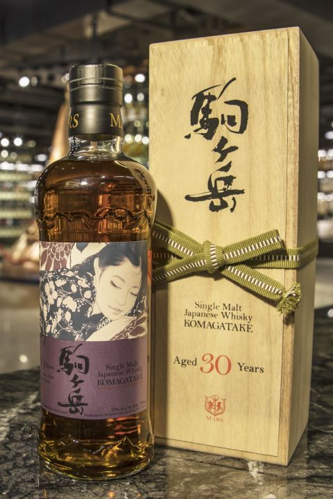 (現貨) Mars Whisky KOMAGATAKE 1986 30 Years Cask Strength 駒之岳 1986 30年 雪莉桶原酒 (700ml 53%)