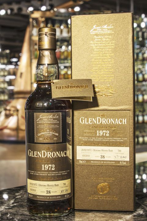 GLENDRONACH 1972 38 years 格蘭多納 1972 38年 雪莉桶 MMA至高無上 (700ml 49.5%)