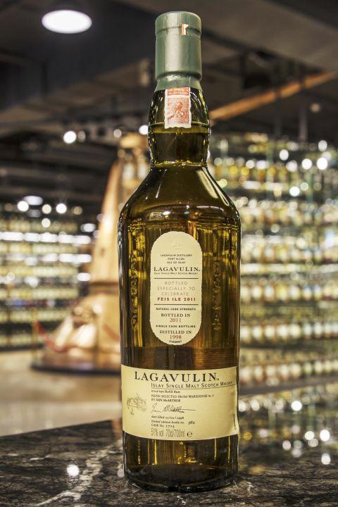 LAGAVULIN 1998 - Feis Ile 2011 拉加維林 1998 單桶原酒 艾雷嘉年華2011版 (700ml 51%)
