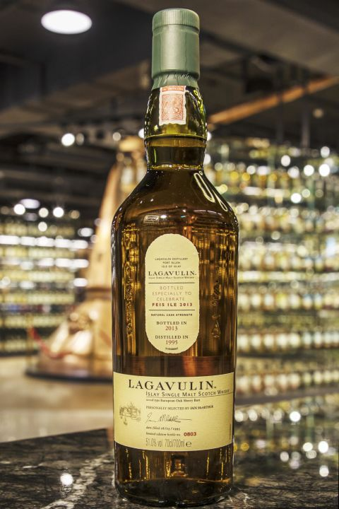(現貨) LAGAVULIN 1995 - Feis Ile 2013 拉加維林 1995 原酒 艾雷嘉年華2013版 (700ml 51%)