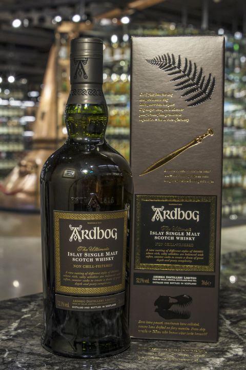 (現貨) Ardbeg Ardbog 雅柏 寶劍 2014年WWA世界最佳艾雷島威士忌 (700ml 52.1%)