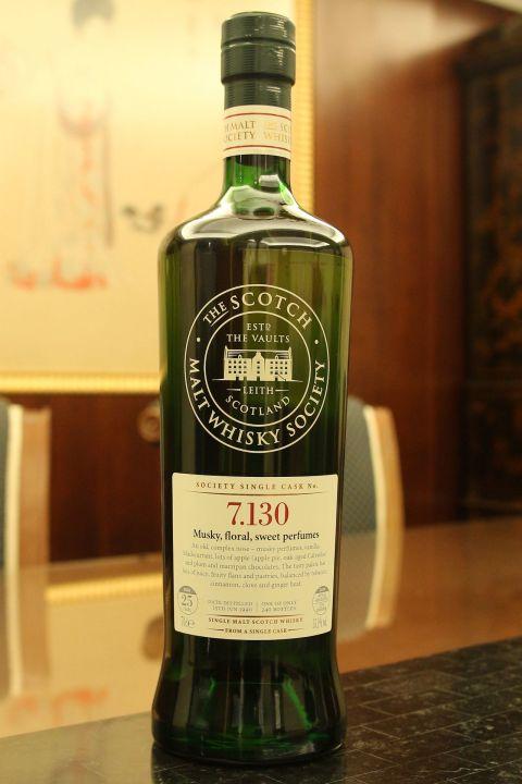 (現貨) SMWS 7.130 Longmorn 25 years 朗摩 單桶原酒 25年 蘇格蘭威士忌協會 (700ml 55.1%)