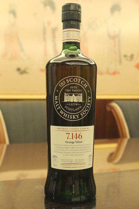 (現貨) SMWS 7.146 Longmorn 24 years 朗摩 單桶原酒 24年 蘇格蘭威士忌協會 (700ml 54.3%)