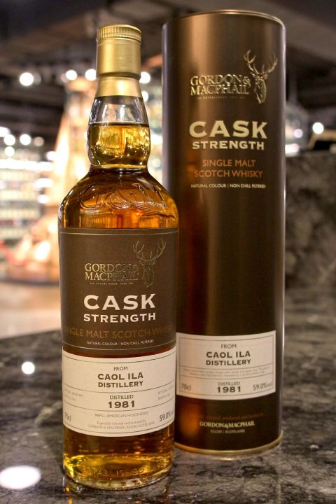 (現貨) G&M - Caol Ila 1981 34 years LMDW 60th 卡爾里拉 1981 34年 原酒 (700ml 59%)