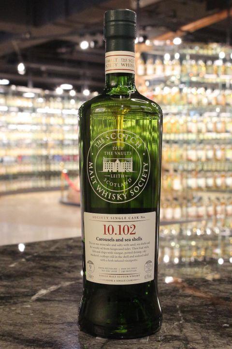 (現貨) SMWS 10.102 Bunnahabhain 9 years 布納哈本 單桶原酒 9年 蘇格蘭威士忌協會 (700ml 61.3%)