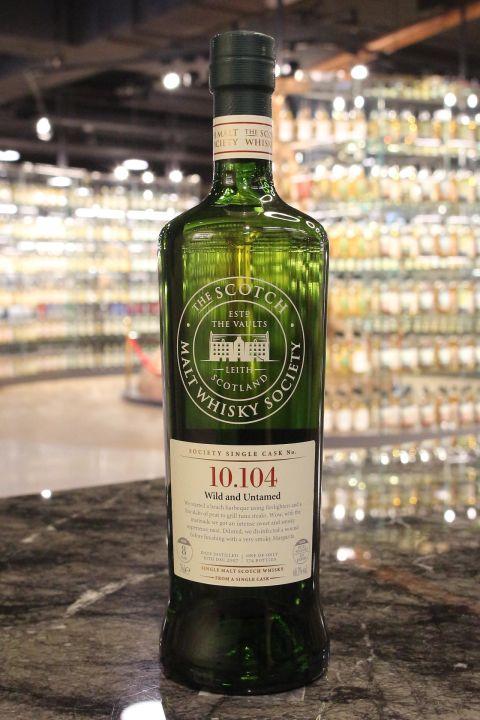 SMWS 10.104 Bunnahabhain 8 years 布納哈本 單桶原酒 8年 蘇格蘭威士忌協會 (700ml 60.3%)