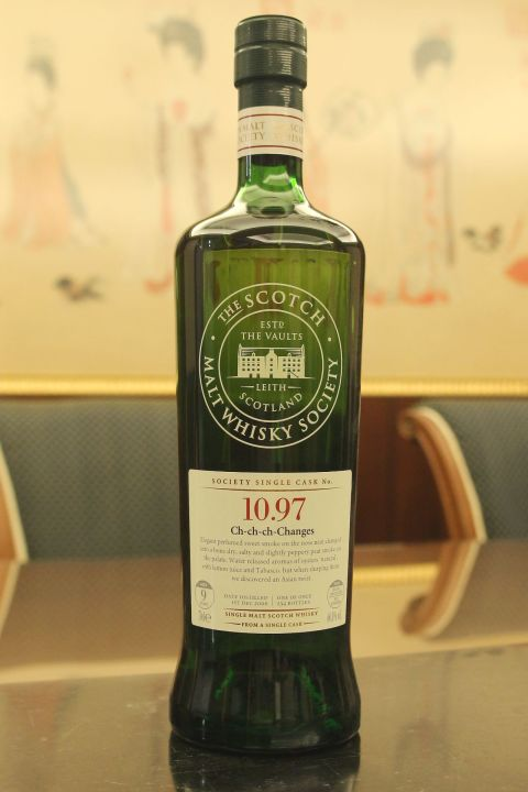 (現貨) SMWS 10.97 Bunnahabhain 9 years 布納哈本 單桶原酒 9年 蘇格蘭威士忌協會 (700ml 60.8%)