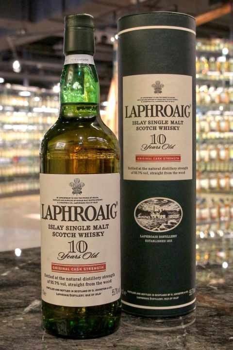 LAPHROAIG 10 years Original Cask Strength 拉佛格 10年 原酒 舊版 (700ml 55.7%)