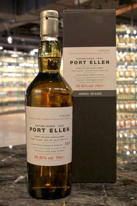 (現貨) Port Ellen 24 years 2nd release 1978 波特艾倫 24年 第2版 1978 (700ml 59.35%)