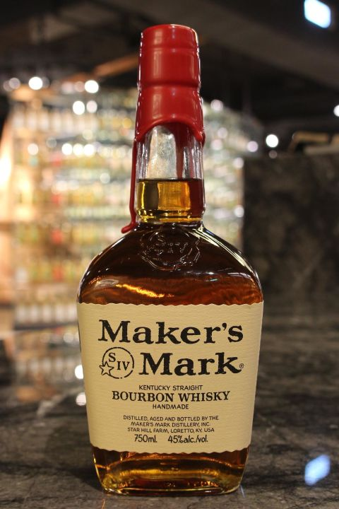 (現貨) Maker's Mark Kentucky Straight Bourbon Whisky 美格 美國波本威士忌 (750ml 45%)