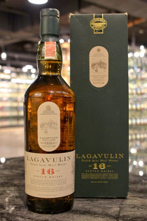 (現貨) LAGAVULIN 16 years White Horse Edition 拉加維林 16年 白馬版 (700ml 43%)
