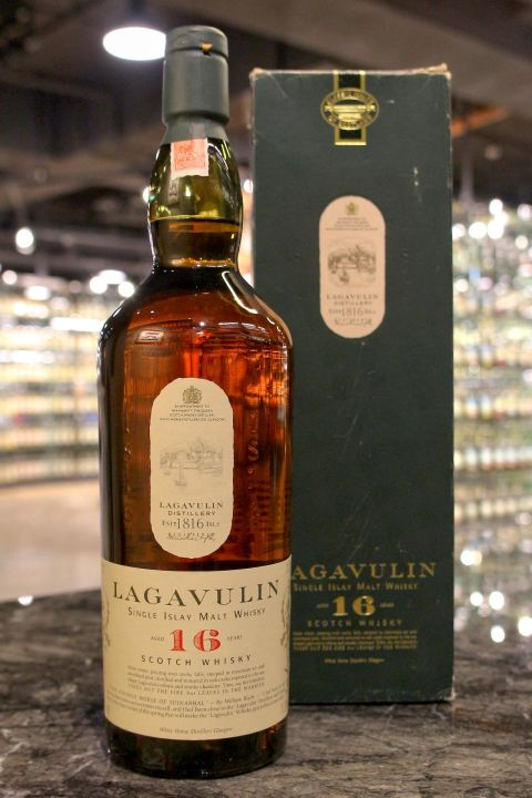 (現貨) LAGAVULIN 16 years White Horse Edition 拉加維林 16年 白馬版 (1000ml 43%)